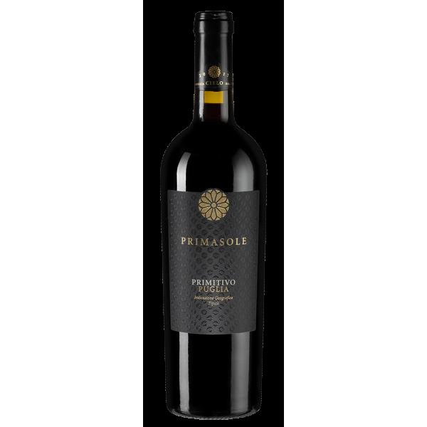 Вино Cielo Primasole Primitivo 2018