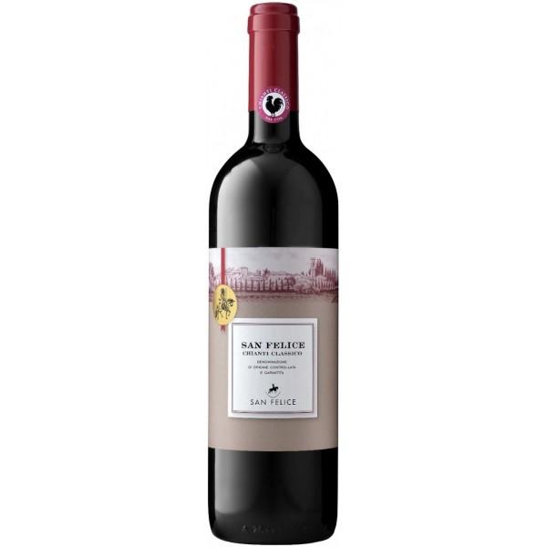 Вино Il Grigio Chianti Classico San Felice 2016 0.375 л
