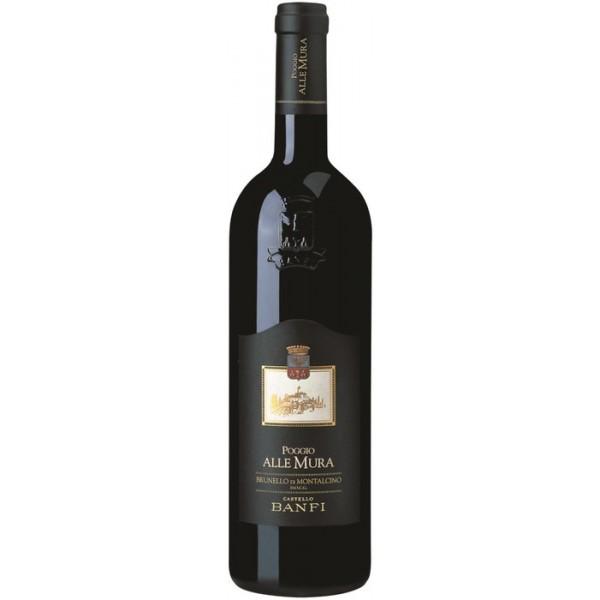 Вино Brunello di Montalcino Poggio alle Mura 2014