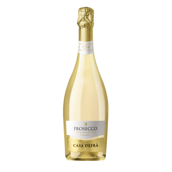 Шампанское Casa Defra Prosecco Spumante Brut 0.75 л