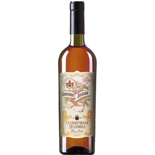 Вино Solnechnaja Dolina Marochnoe Kreplenoe Beloe Sladkoe 0.75 л