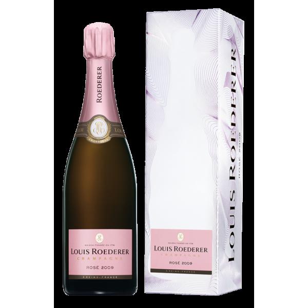 Шампанское Louis Roederer Brut Rose 2010 0.75 л