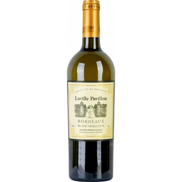 Вино Laville Pavillon Bordeaux Blanc Moelleux 0.75 л