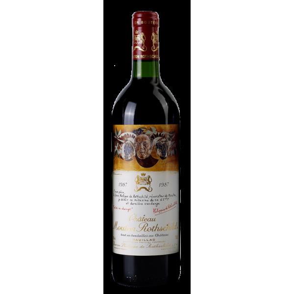Вино Chateau Mouton Rothschild 1987 0.75 л