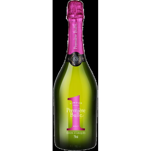 Игристое вино Premiere Bulle Brut Blanquette de Limoux AOC Sieur d'Arques 0.75 л