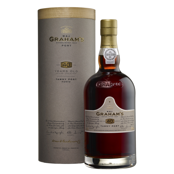 Портвейн Graham's 40 Year Old Tawny Port in a gift box