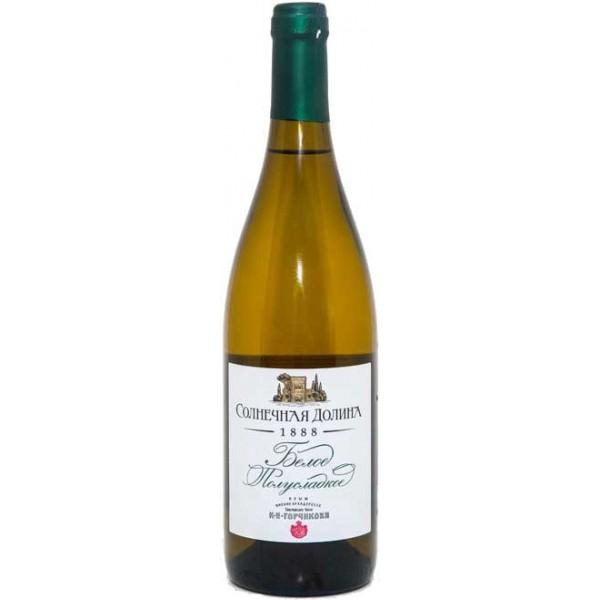 Вино Solnechnaya Dolina Blanc semi sweet