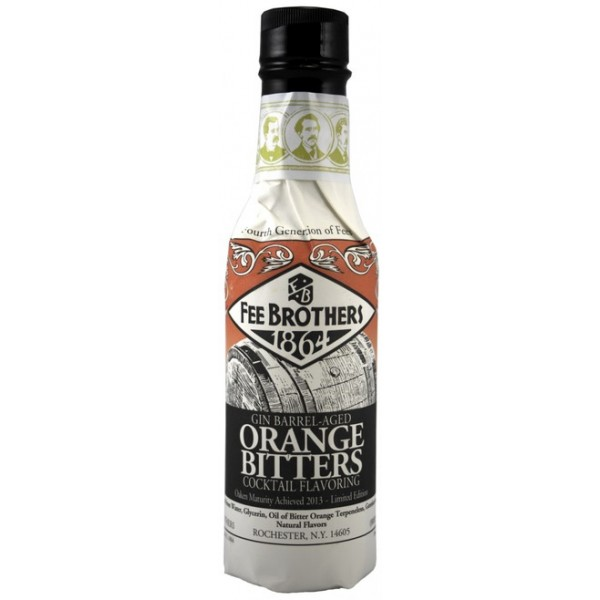Ликер Fee Brothers Gin Barrel-Aged Orange Bitters 0.15 л