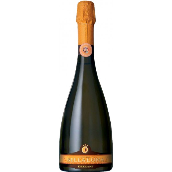 Игристое вино Dezzani, Bellaluna Cuvee Brut 0.75 л