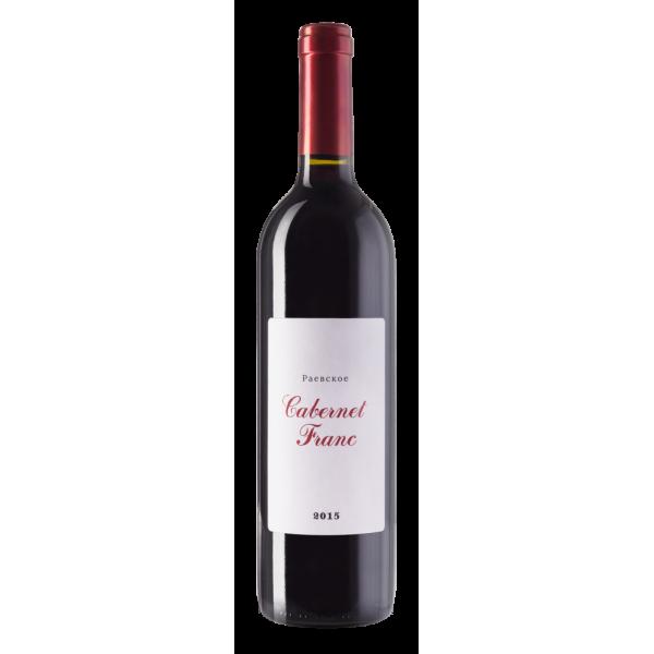 Вино Raevskoe Cabernet Franc 2017