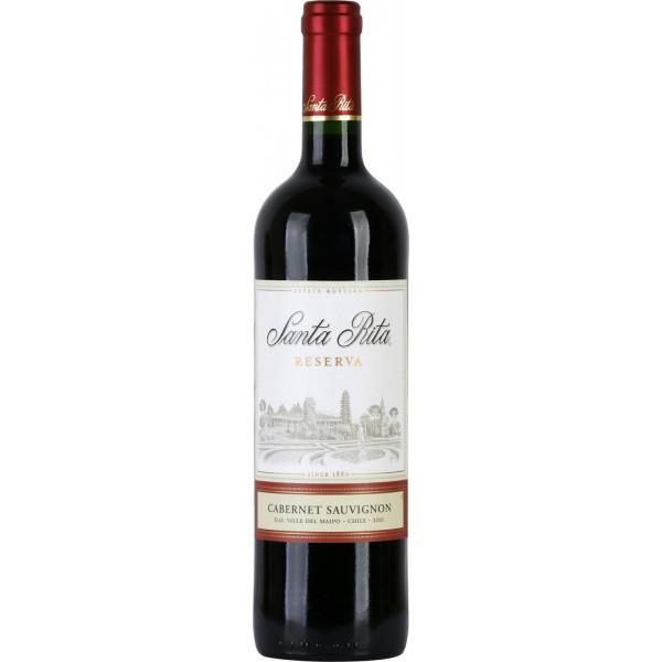 Вино Cabernet Sauvignon Reserva Santa Rita 0.75 л