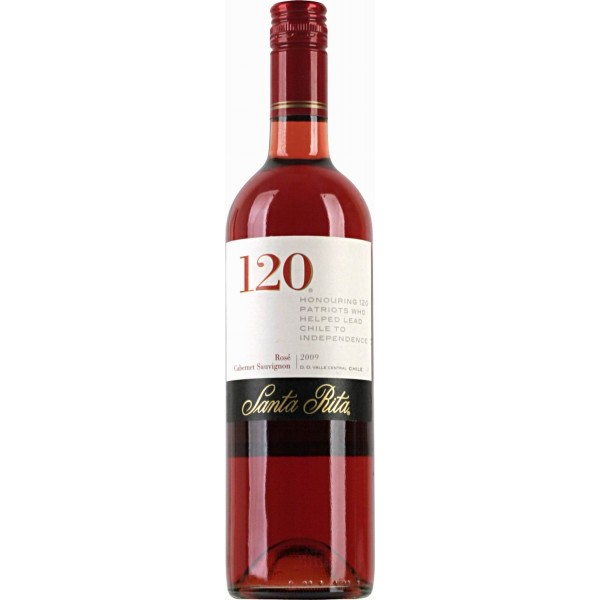 Вино Rose Cabernet Sauvignon 120 Santa Rita 2009 0.75 л
