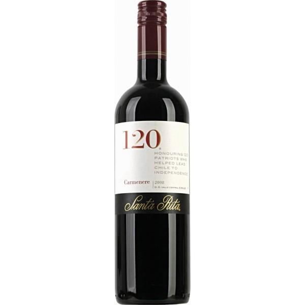 Вино Carmenere Valle Central 120 Santa Rita 2008 0.75 л