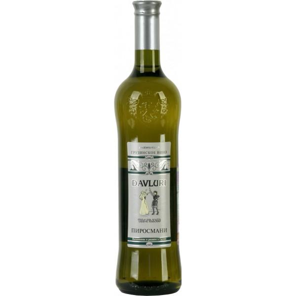 Вино Pirosmani Davluri White 0.75 л