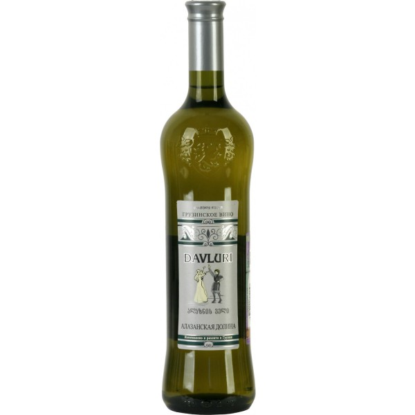Вино Alazanskaia Dolina Davluri White 0.75 л