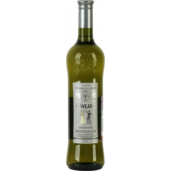 Вино Cinandali Davluri 0.75 л