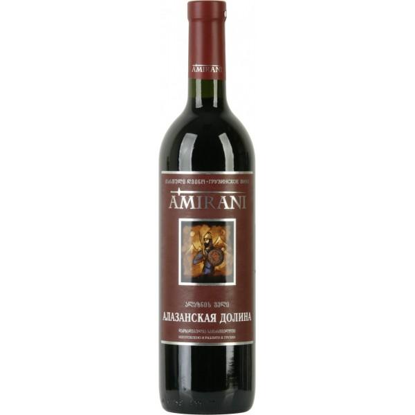 Вино Alazanskaia Dolina Amirani Red 0.75 л