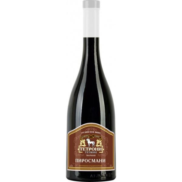 Вино Pirosmani Tetroni Red Semi Sec 0.75 л