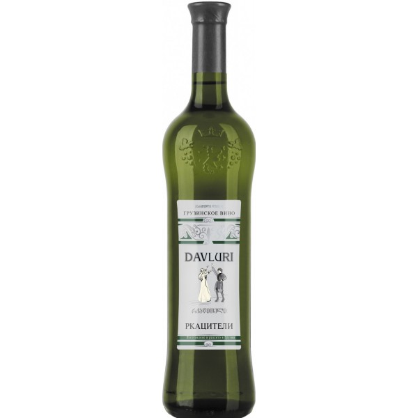 Вино Rkatsiteli Davluri 0.75 л