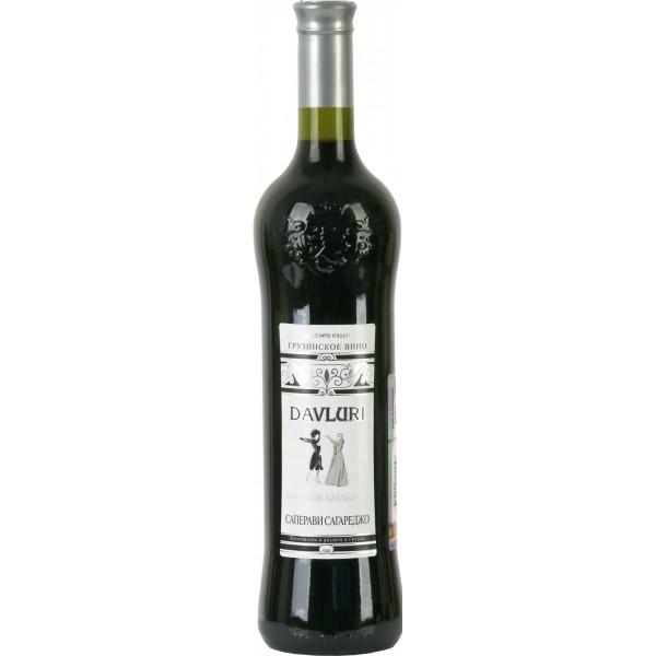 Вино Saperavi Sagarejo Davluri 0.75 л