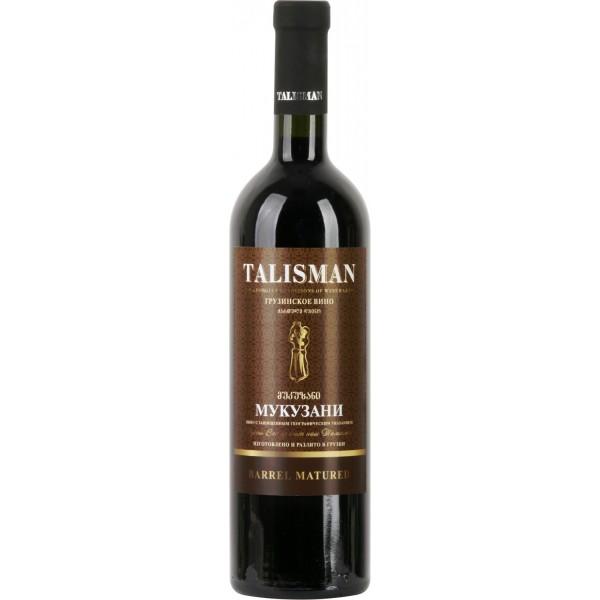 Вино Mukuzani Talisman Barrel Matured 0.75 л