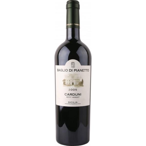 Вино Carduni Petit Verdot Sicilia Baglio di Pianetto'05 2005 0.75 л