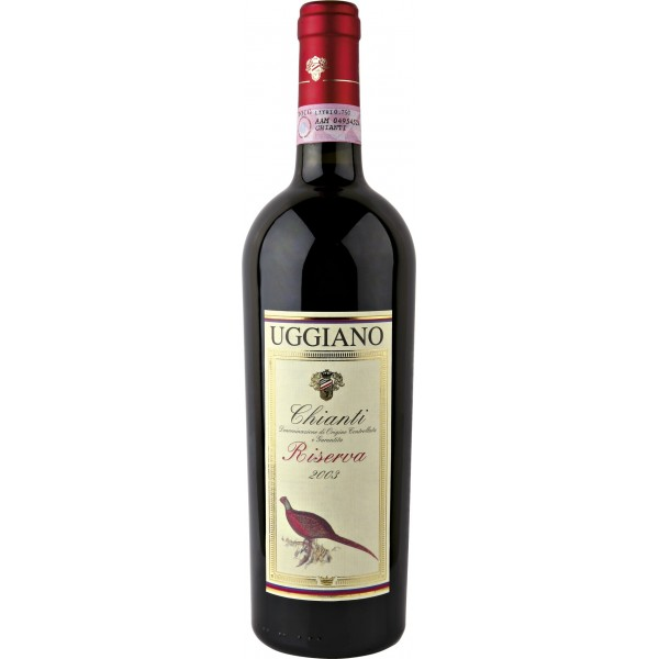 Вино Chianti Riserva Azienda Uggiano 2004 0.75 л