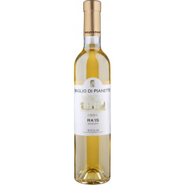 Вино Ra'is Moscato di Noto Baglio di Pianetto 2009 0.75 л
