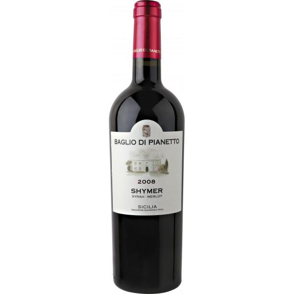 Вино Shymer Syrah Merlot Sicilia IGT 2010 0.75 л