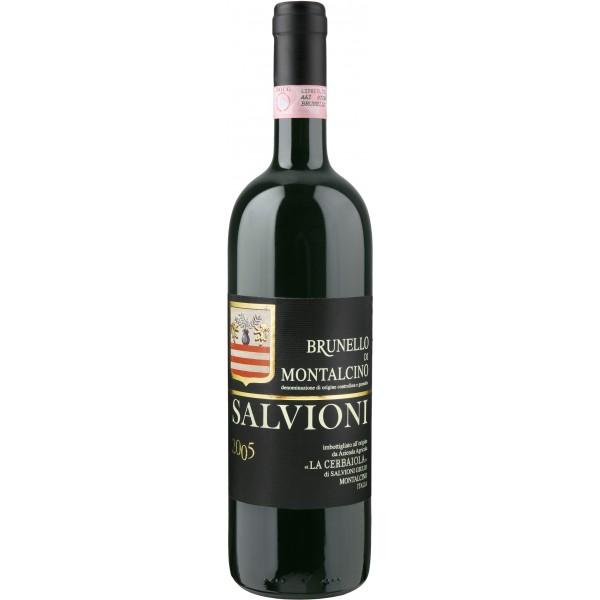 Вино Brunello di Montalcino Azienda Agricola Salvioni 2008 0.75 л