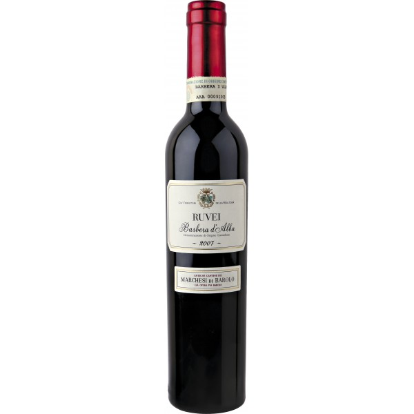 Вино Ruvei Barbera d'Alba 2011 0.375 л