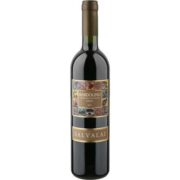 Вино Bardolino Classico Salvalai 2013 0.75 л