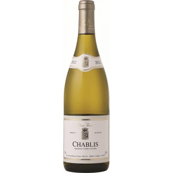 Вино Chablis Maison Oliveir Tricon 2013 0.75 л