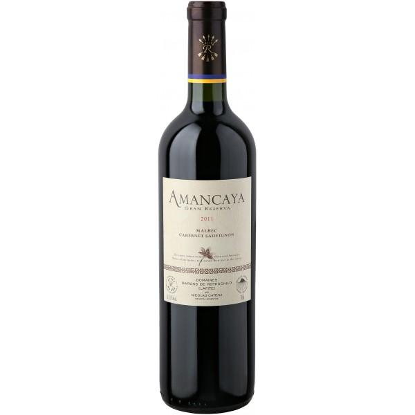 Вино Bodegas Caro Amancaya Gran Reserva Malbec-Cabernet Sauvignon 2011 0.75 л