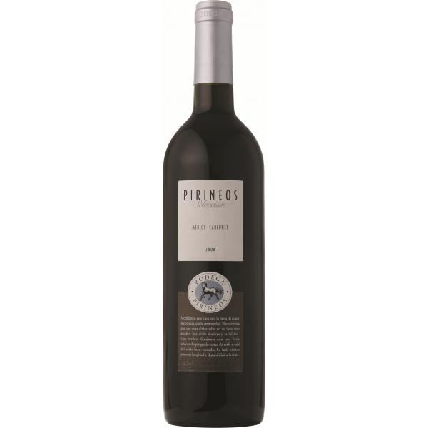 Вино Pirineos Seleccion Crianza Somontano DO 2008 0.75 л