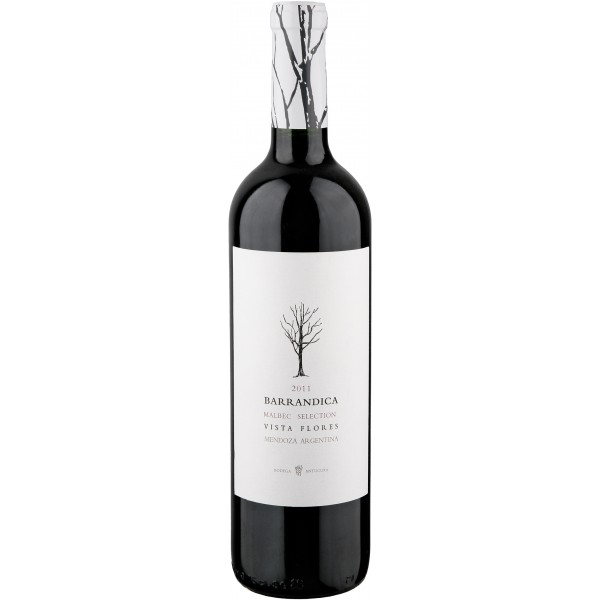 Вино Barrandica Malbec Mendoza 2013 0.75 л