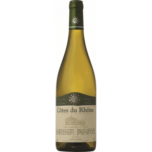 Вино Expert Club Cotes du Rhone 2012 0.75 л
