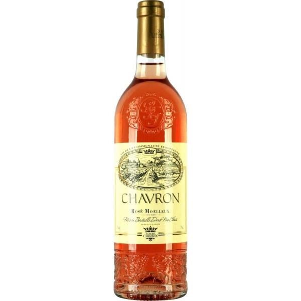 Вино Rose Moelleux Chavron 0.75 л
