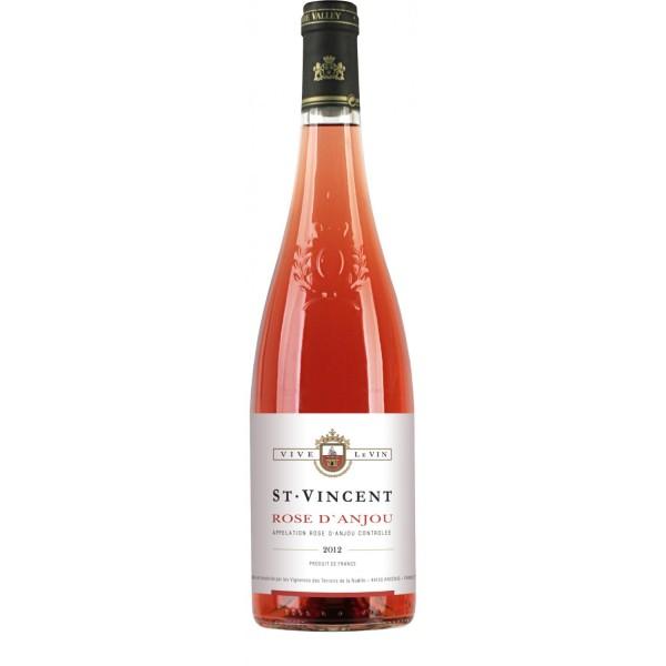 Вино Rose d'Anjou St Vincent 2013 0.75 л