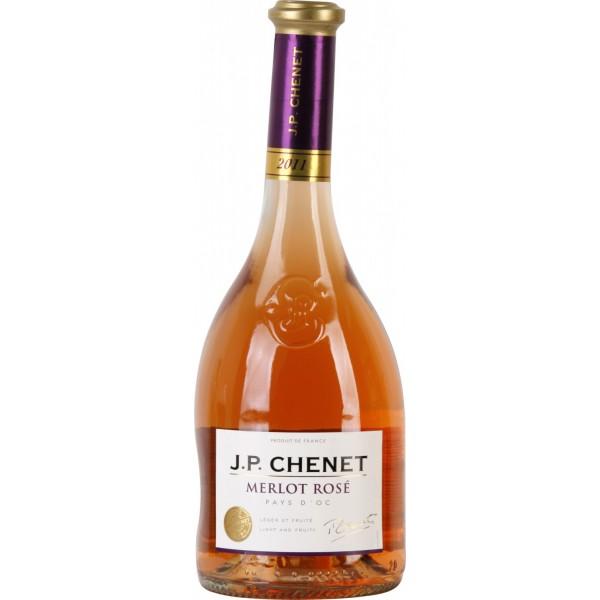 Вино Merlot Rose Pays d`Oc J. P. Chenet 0.75 л