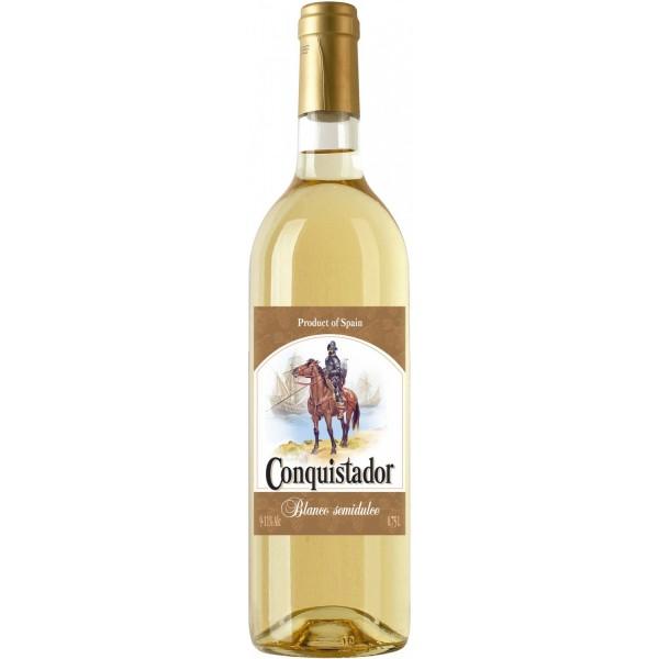 Вино Conquistador Blanco Semidulce 0.75 л