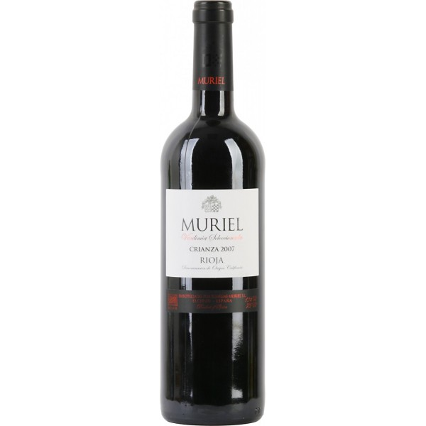 Вино Muriel Crianza Rioja 2010 0.75 л