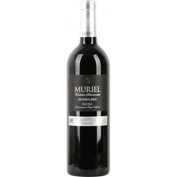 Вино Muriel Reserva Rioja 2007 0.75 л
