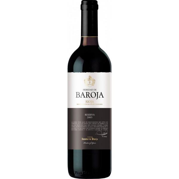 Вино Heredad de Baroja Reserva Rioja 2008 0.75 л