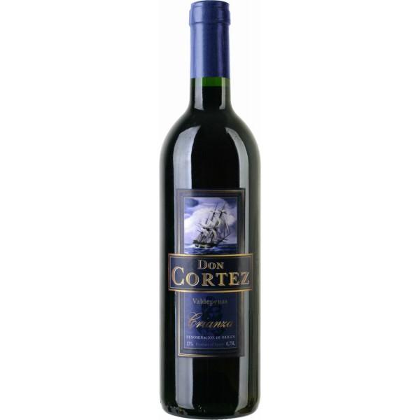 Вино Crianza Valdepenas Don Cortez 0.75 л