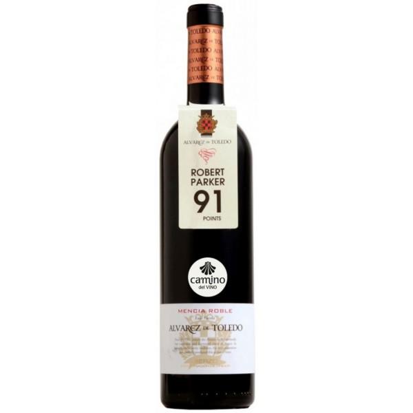Вино Camino del Vino Alvarez de Toledo Bierzo Mencia Roble 2009 0.75 л