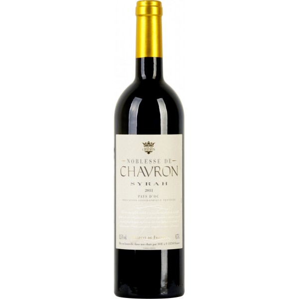 Вино Syrah Pays d`Oc Noblesse de Chavron 2011 0.75 л