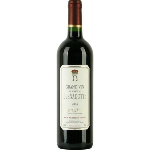 Вино Chateau Bernadotte Haut Medoc`04 2004 0.75 л