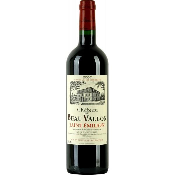 Вино Chateau du Beau Vallon Saint Emilion 2004 0.75 л