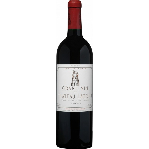 Вино Chateau Latour Grand Cru Classe 1992 0.75 л
